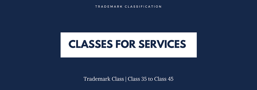 trademark classes for services