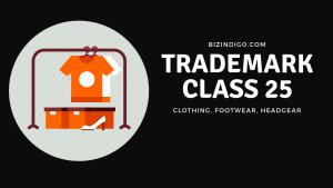 trademark class 25