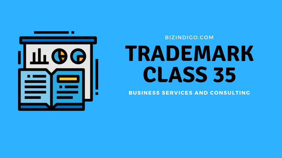 trademark class 35
