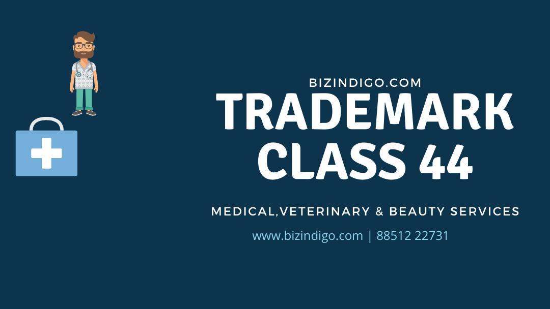 Trademark class 44