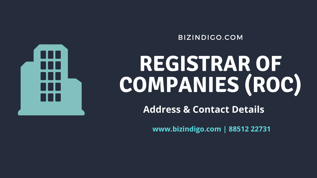 Registrar of Companies (ROC) Offices Contact & Address