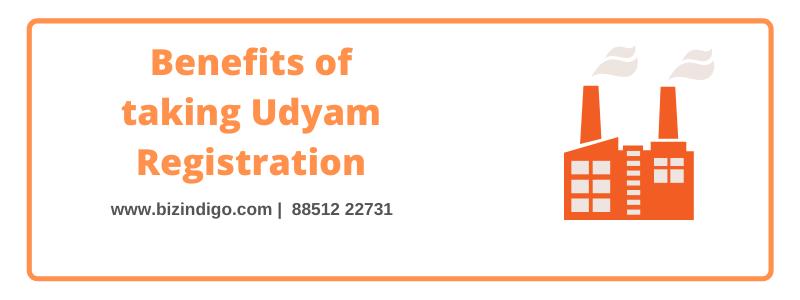 Benefits of Taking Udyam Registration